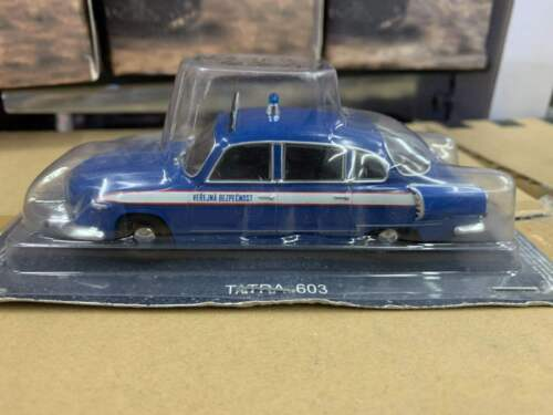 IXO 1:43 TATRA 603 Police Car DieCast Model Collection Toy