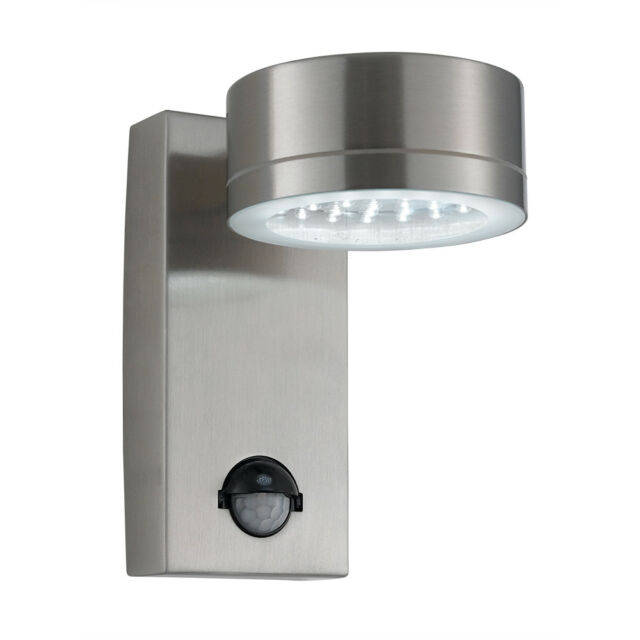 Searchlight 9550ss Stainless Steel Ip44 36 Led Outdoor Wall Light