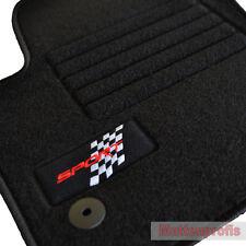 Mattenprofis Velours Logo Fußmatten für Seat Leon II 1P ab Bj.05/2005 - 2012