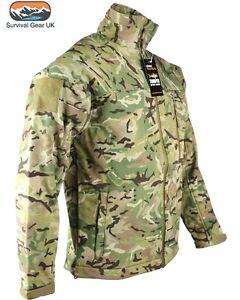 NUOVO-stile-Trooper-Soft-Shell-Giacca-Cappotto-MTP-BTP-Tattica-Militare-Airsoft
