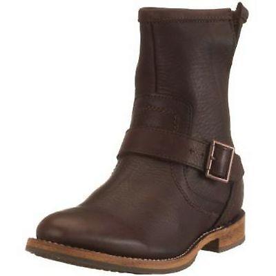 CATERPILLAR P711809 JONAS Legendary Raw Men's (M) Brown Leather Casual Boots