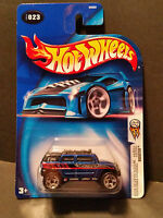 2004 Hot Wheels #023 First Editions 23/100 : Rockster Blue