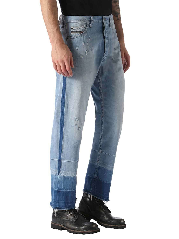 Diesel Jeans Pantaloni men Khiro 0852N Regolare Dritto
