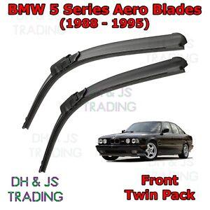 88-95-BMW-5-Series-Aero-Wiper-Blades-E34-Saloon-Touring-Windscreen-Flat-Blade