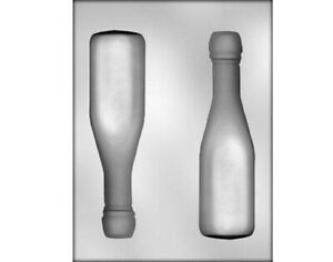 Champagne Bottle 3D Large Chocolate Mould