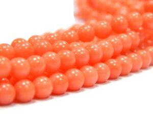 Natuerliche-Orange-Koralle-NATUR-EDELSTEIN-PERLEN-RUND-5mm-20stk-G110