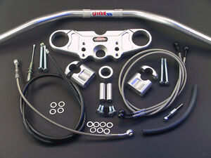 ABM-Superbike-Lenker-Umbau-Kit-Kawasaki-ZX-9-R-039-98-039-99-Fahrzeugtyp-ZX900C