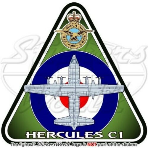 HERCULES C1 RAF Lockheed C-130K Aeronautica Militare Britannica Adesivo Sticker