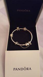 e752174f4 Image is loading Pandora-bracelet-amp-Ribbon-of-Love-Charm-Teddy-
