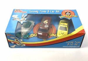 ERTL Racing Champions LOONEY TUNES 3 Car Box Set 2002 - Bugs Taz Tweety