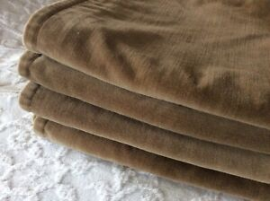 Pottery Barn Tan Driftwood Washed Velvet Pillow Covers 20