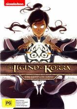 LEGEND OF KORRA - COMPLETE SEASON 1 2 3 4 Box  -  DVD - REGION 4 - SEALED