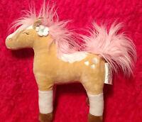 Circo Wild Horses Pretty Girls Decorative Throw Bed Pillow Pink Horse