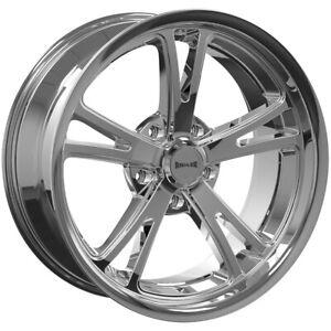 "Ridler 695 20x10 5x4.75/"" 0mm Chrome Wheel Rim 20/"" Inch"