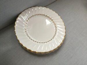 4-Vintage-Royal-Doulton-ADRIAN-8-Salad-Plates-Excellent-Condition