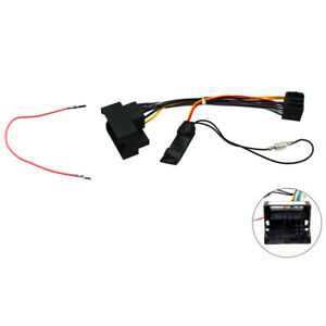 Details about Skoda Fabia Octavia Roomster Superb Yeti CANBus Car Radio ISO  Lead Ignition Feed
