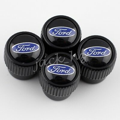Car Styling Wheel Tyre Valve Stem Roundel Kits Caps For Ford Vehicle Accessories