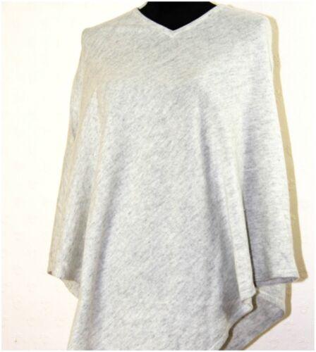 100/% Pure Cashmere Poncho Cape Jumper Pashmina Wrap Ladies Women Warm V-Neck