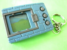 1997 BANDAI DIGIMON DIGIVICE DIGITAL MONSTER GAME BLUE *WORKS* ENGLISH KEYCHAIN