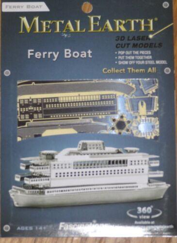 Ferry Boat Metal Earth 3D Laser Cut Metal Model Fascinations