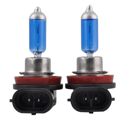 2PCS H11 12V 55W Super Bright Ultra White Fog Halogen Bulb Car Head Light UWUK