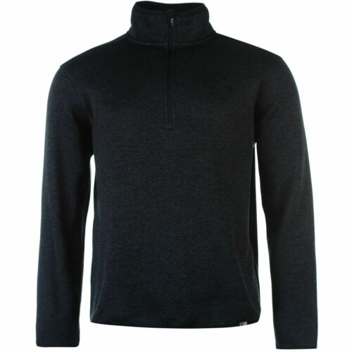 Karrimor Life Fleece Mens Gents Zipped Top Sweatshirt Jumper Full Length Sleeve