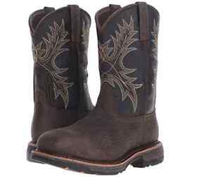 6353c95f9e955 Image is loading Ariat-Workhog-H2O-Waterproof-Composite-Square-Toe-Work-