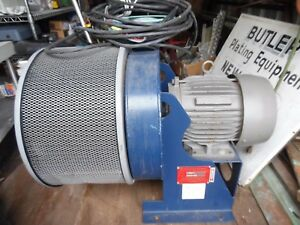 Details about Spencer 0303-SS 3 HP Centrifugal Blower w/ Toshiba 3 Phase  Induction Motor