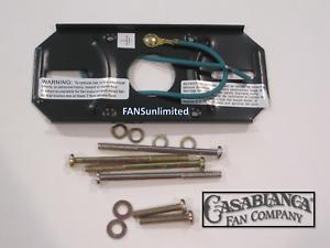 Crossbar Mounting Plate Bracket Chromate Screws Casablanca Ceiling Fan Genuine Ebay