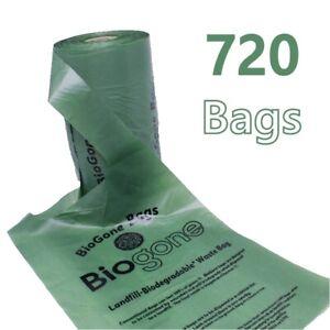 Dog-Poo-Bags-Biodegradable-BioGone-Waste-Bag-4-Rolls-of-180