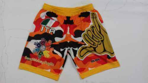 Footex Staple Beach Volleyball Camouflage Made in Italy Yellow//Orange//Red