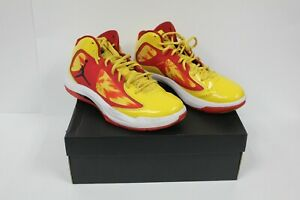 RARE-AIR-Jordan-AERO-FLIGHT-Basketball-Shoe-FLYWIRE-RED-YELLOW-524959-007-SZ-11