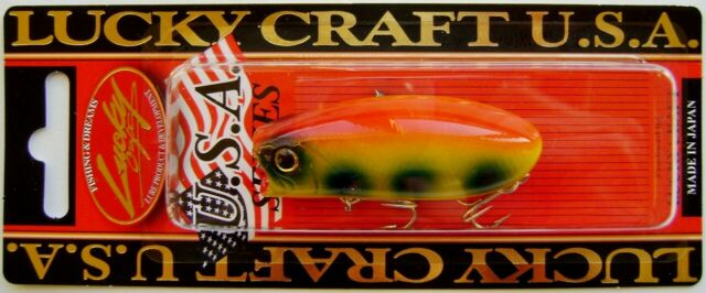 LUCKY CRAFT JAPAN Malas 01210220 Yellow Bass