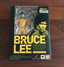 Bandai S.H.Figuarts Bruce Lee Yellow Track Suit Action Figure Tamashii Nations