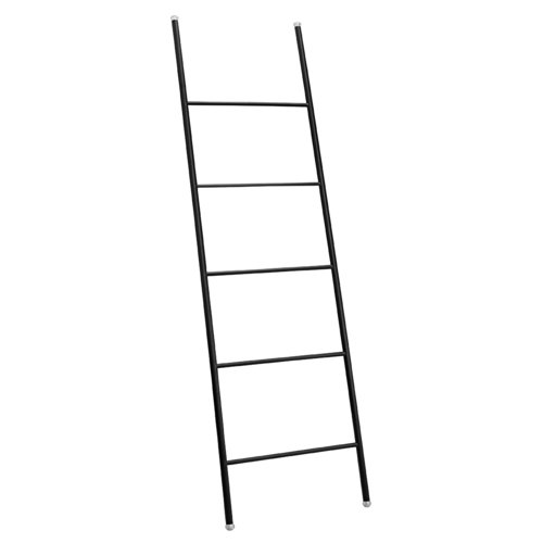 iDesign Towel Holder Ladder, Modern Towel Rack with Five Bars Made of Durable or