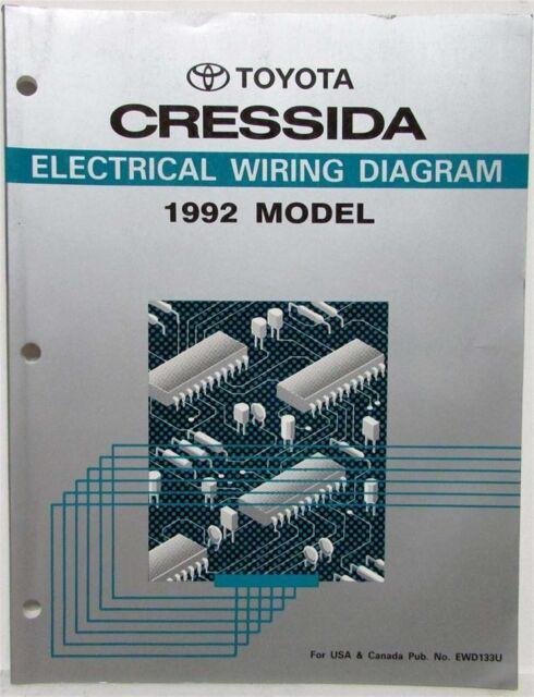 1992 Toyota Cressida Electrical Wiring Diagram Manual Us