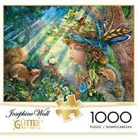 Buffalo Games Glitter Puzzle Nature Boy Josephine Wall 1000 Pcs 11727