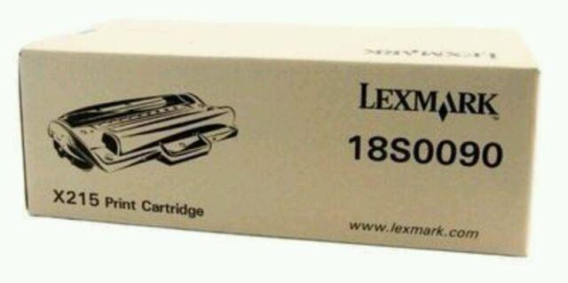 Genuine Lexmark 18S0090 Black Toner Cartridge for X215