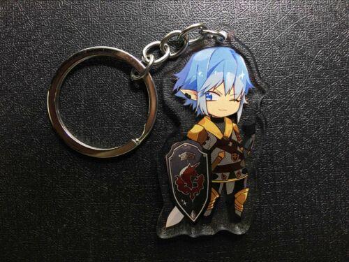 Final Fantasy XIV FF14 Haurchefant Greystone Keychain Keyring Strap Acrylic N