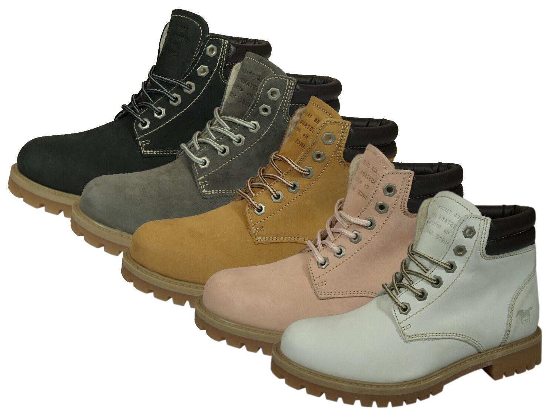Mustang 2837-505 zapatos señora botines botas chelsea con con con cordones-botay  Ahorre hasta un 70% de descuento.