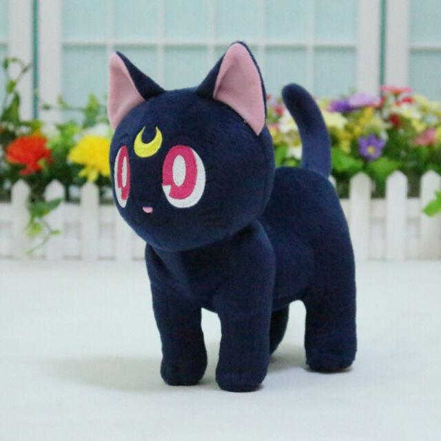 Anime Sailor Moon Luna Cat Plush Doll Toy Pillow Ccs XMAS Gift Cute Kitty New