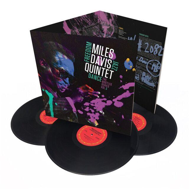 Miles Davis Quintet : Liberté Jazz Dance: The Bootleg Series Triple Vinyle LP