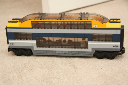 LEGO City Custom Made Passenger Club Car Observation Train Carriage 60197