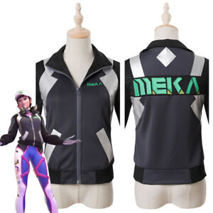Overwatch D.Va DVA Hana Song Cosplay Costume Shooting Star Outfit ... 4378d8ed7cc3