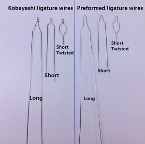 Dental-Short-Twisted-Preformed-Ligature-Wires-Orthodontic-Kobayashi-Long-Bracket
