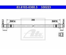 Bremsschlauch Bremsleitung ATE 24.5123-0281.3