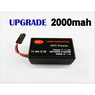 NEW AFTERMARKET BATTERY FOR AR.DRONE 2.0 HELICOPTER QUADRICOPTER CONTROL 2000MAH