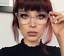 Cat-Eye-Vintage-Retro-034-Ombre-034-Women-Eyeglasses-BAMBI-Clear-Lens-SHADZ-GAFAS thumbnail 1