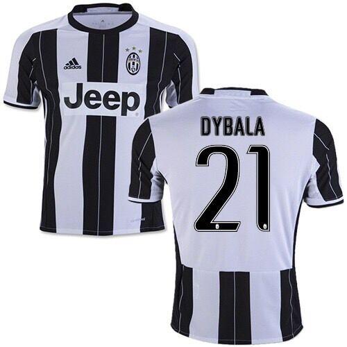 Maglia Juventus 20162017 Ufficiale Paulo Dybala 21 Champions League