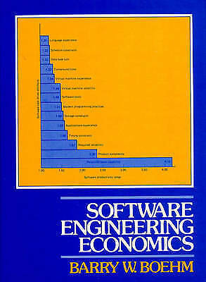 1 of 1 - Software Engineering Economics (Prentice-Hall Advances in Computing-ExLibrary